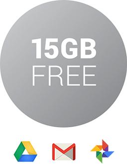 Logotipo gratis de 15 GB