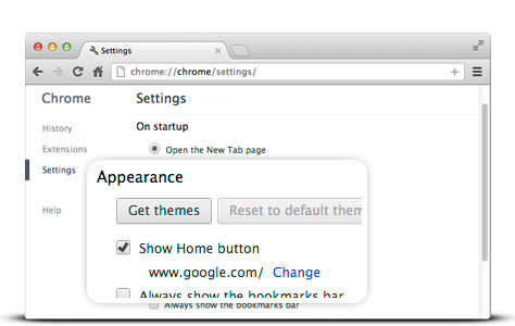 how to make google my homepage on mac air