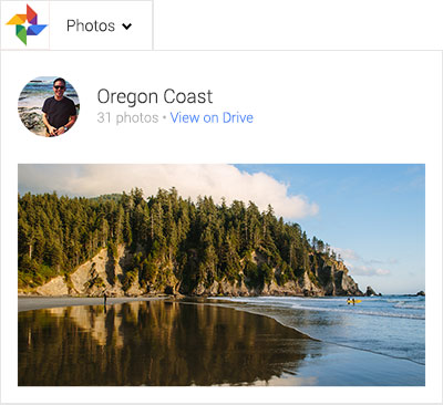 how to put photos on google drive