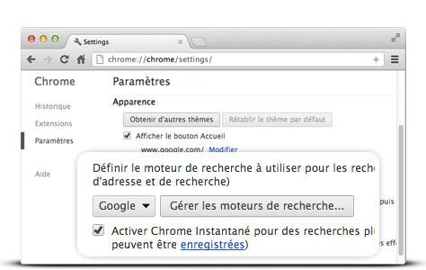 Definissez Google Comme Moteur De Recherche Par Defaut Google