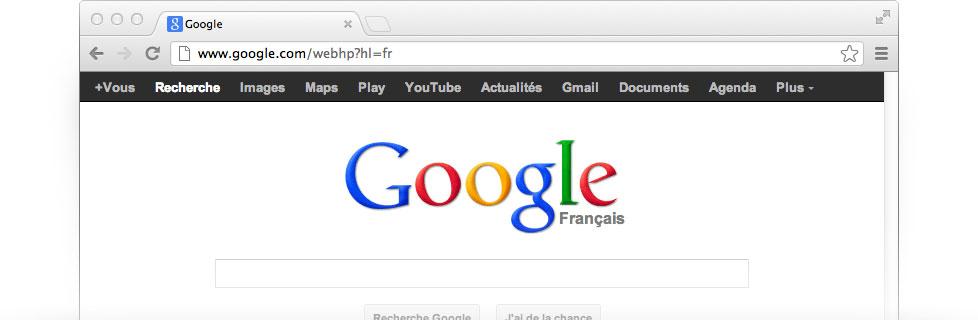 comment mettre google en page d accueil sur mac