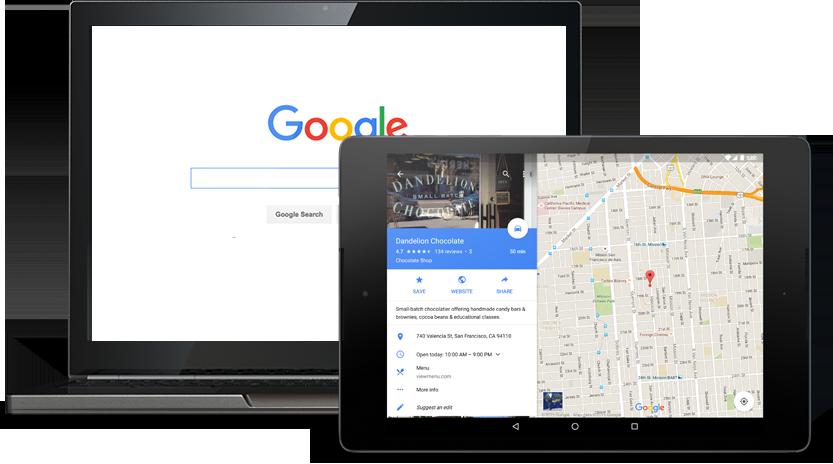 Google szolgáltatás minden eszközön