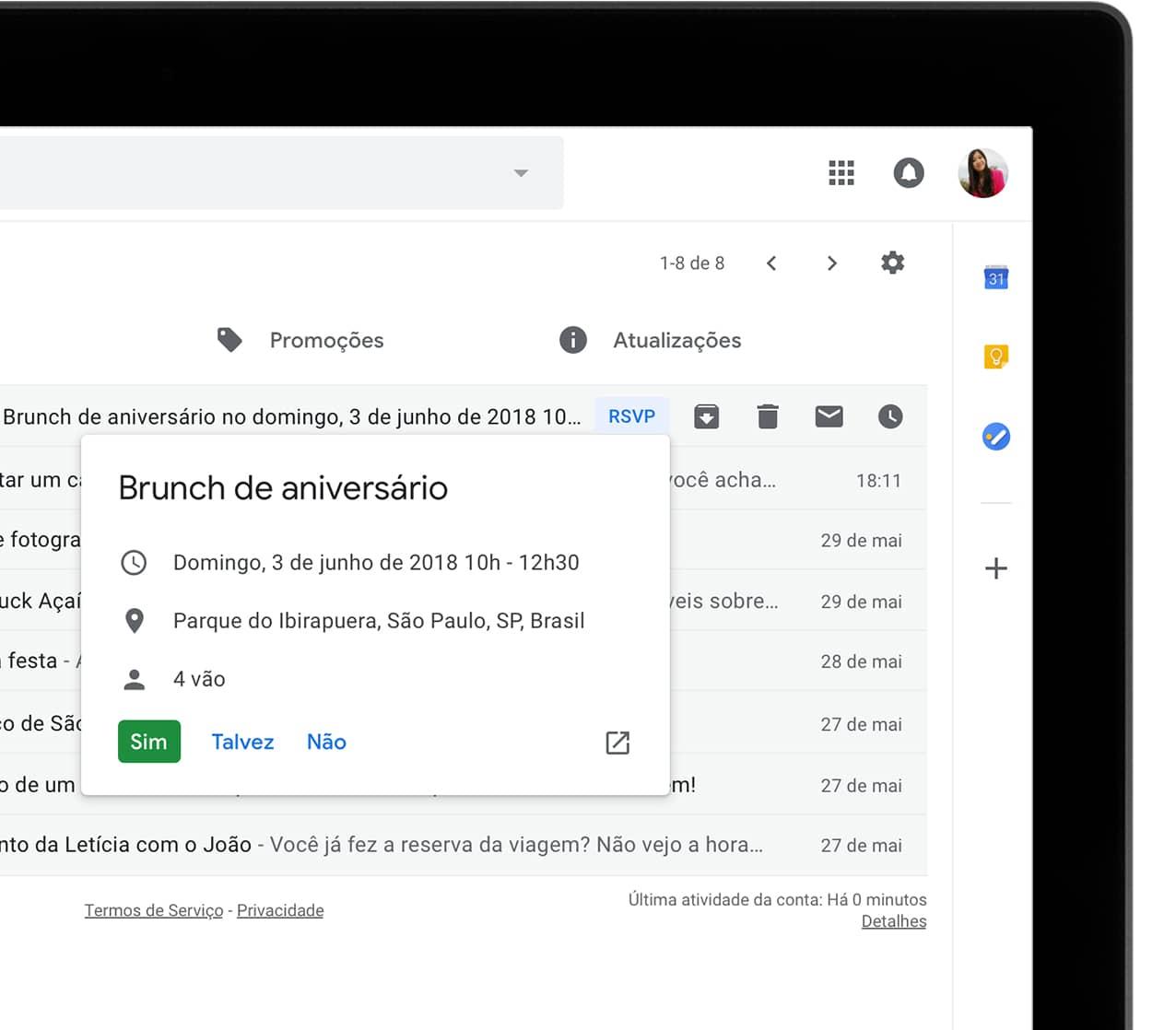 Gmail e mail e armazenamento gratuito do google faa muita coisa sem sair da caixa de entrada stopboris Gallery