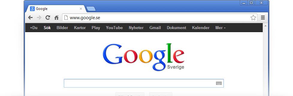 Anv nd google som startsida google - Bloccare apertura finestre chrome ...