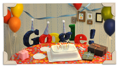 Google Birthday 13