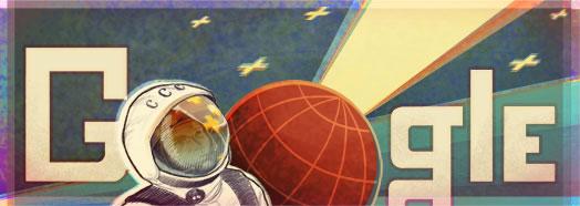 Google Doodle Yuri Gagarin
