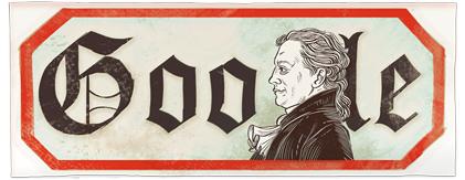 Doodle Johann Wolfgang von Goethe