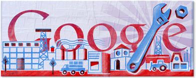 Doodle chào mừng ngày Quốc tế lao động 2011