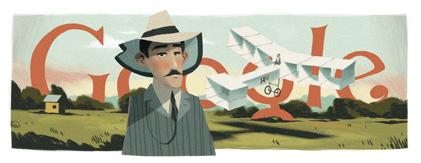 139º aniversário de Alberto Santos Dumont