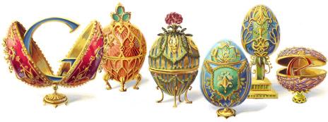 166º Aniversário de Peter Carl Fabergé
