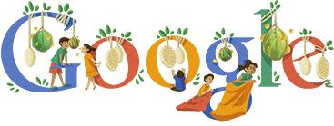 Logo Google Hari Kemerdekaan Indonesia Ke-67 tahun 2012
