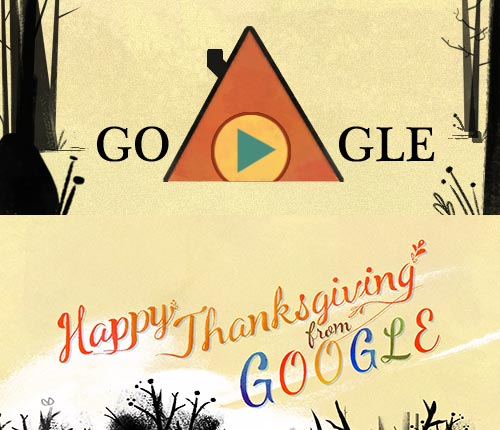 Thanksgiving 2013 Google-Doodle