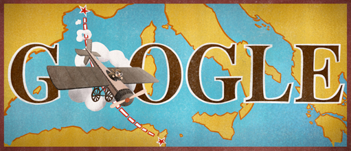 100th anniversary of the first non-stop flight across the Mediterranean Sea