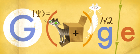 Erwin Schrödinger's 126th birthday