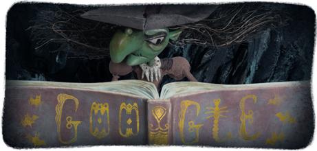 Google-Doodle Happy Halloween 2013