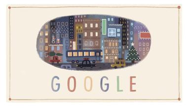 Google-Doodle: Frohes Fest