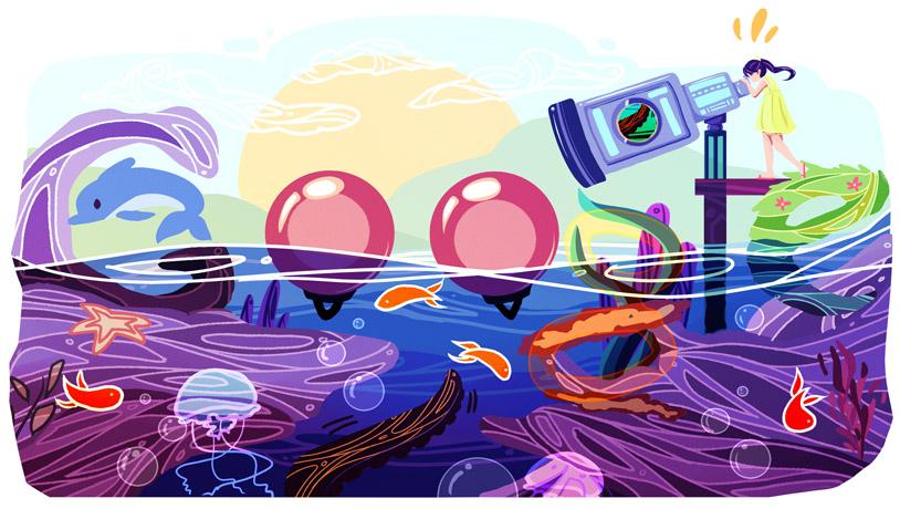 Scribble Google Drawing : Doodle google canada