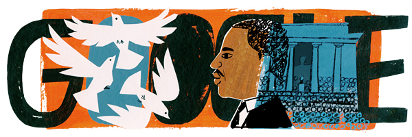 Martin Luther King Jr. Day Google-Doodle