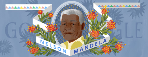 Google-Doodle: Nelson Mandela