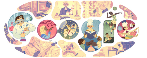 Google-Doodle: Internationaler Frauentag 2015