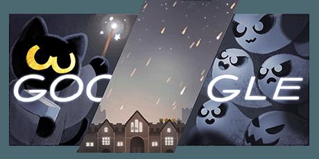 Halloween 2016 Google Doodle