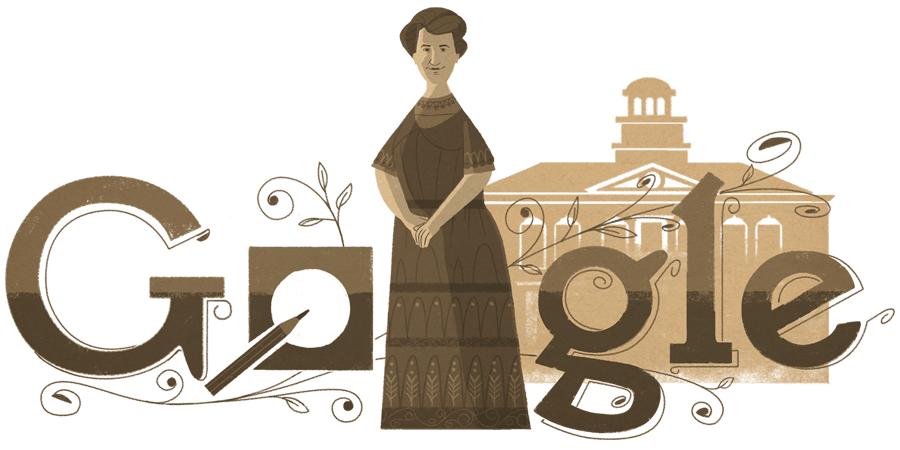 163.º aniversario de Aletta Jacobs