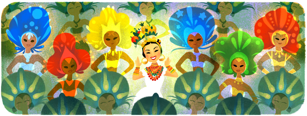 Carmen Miranda's 108th Birthday