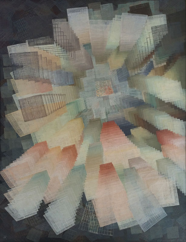 Outward Movement, 1948. Oil on canvas.