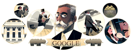 Machado de Assis' 178th Birthday