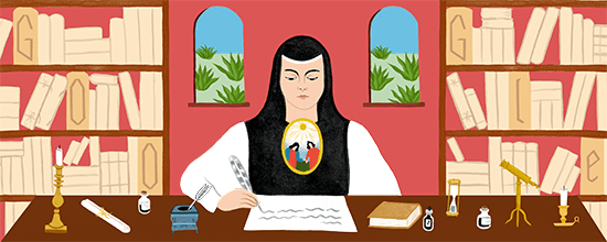 Sor Juana Inés de la Cruz's 366th Birthday