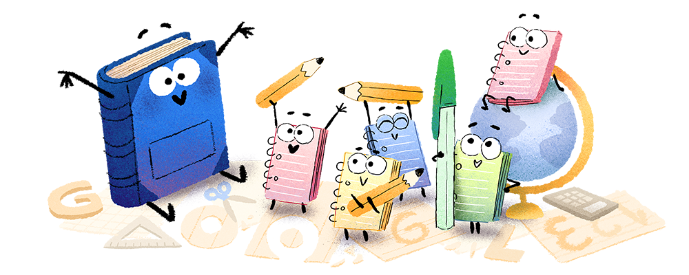 First Day of School 2018 Doodle