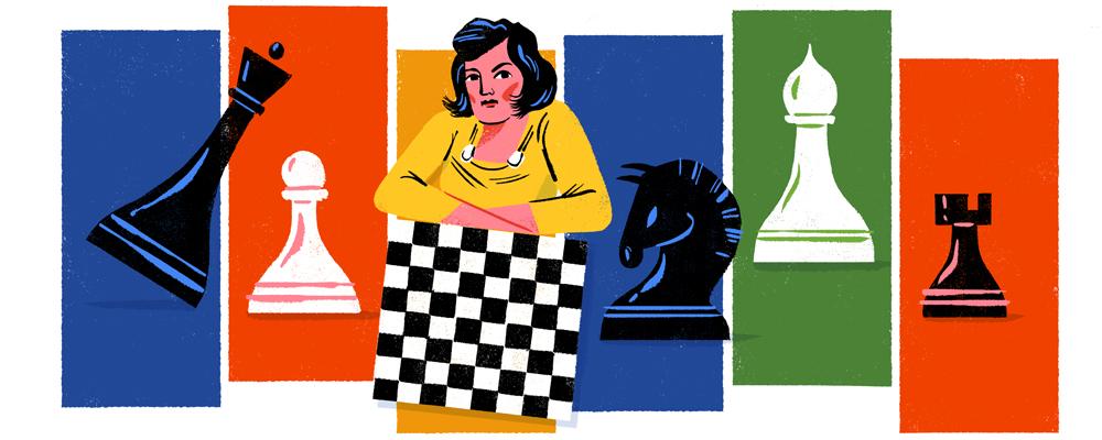 Lyudmila Rudenko's 114th Birthday #GoogleDoodle