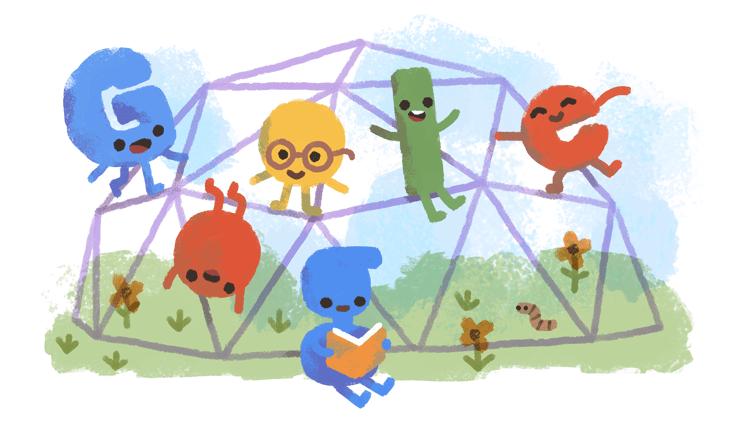 Halloween 2020 Gogel Google's 15th Birthday