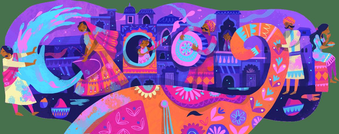 Fête des couleurs (Holi)2019