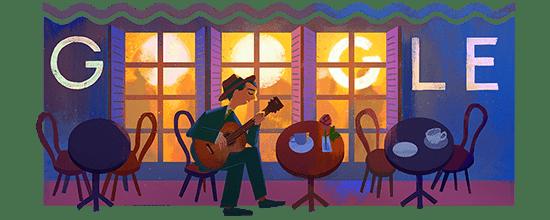 Google Noel Noel Rosa's 109th Birthday