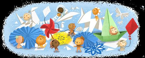 غوغل يحتفل بيوم الطفل العالمي