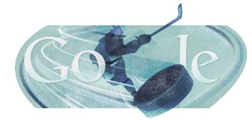 Google Doodle Hockey