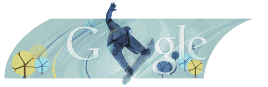 Google Doodle Olympische Spiele 2010