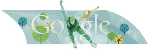 Google Doodle Speed Skating