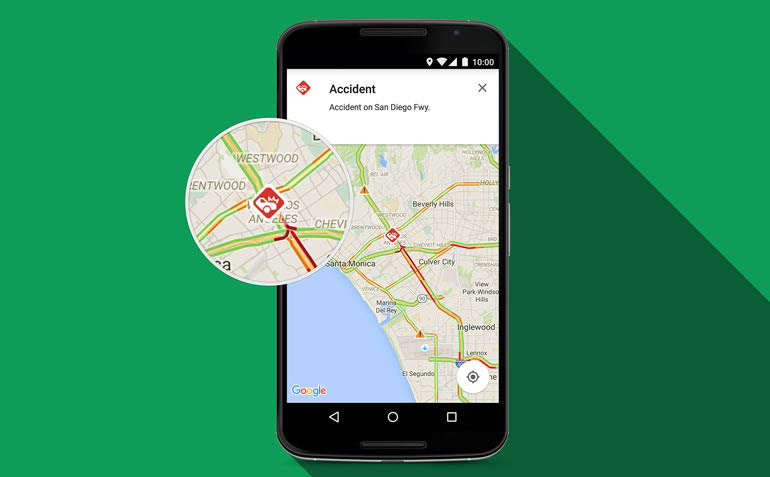 How to set my location in google maps in android phone