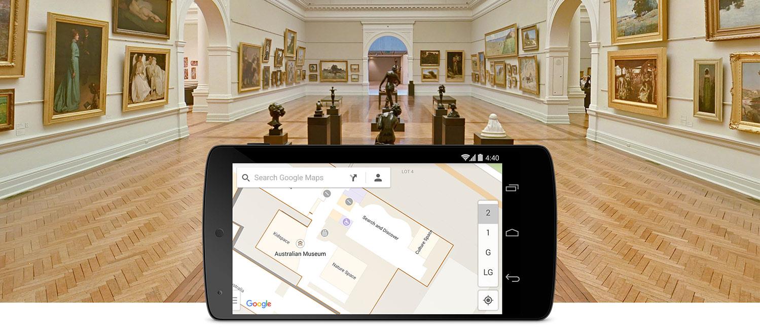 Navigate With Indoor Google Maps
