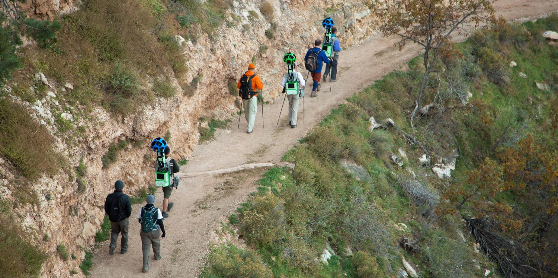 Street View Treks Grand Canyon About Google Maps