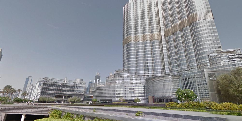 dubai karta google Street View Treks: Burj Khalifa – About – Google Maps dubai karta google