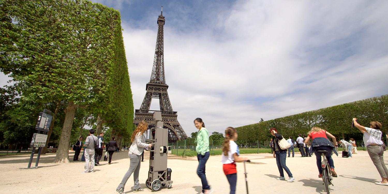 Map Of France Eiffel Tower.Street View Treks Eiffel Tower About Google Maps