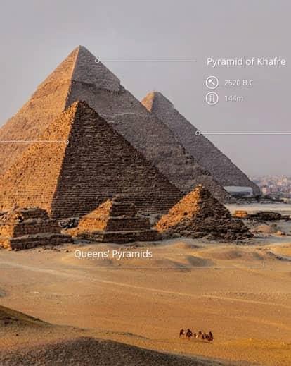 Street View Treks Egypt About Google Maps - Map of egypt tourist sites