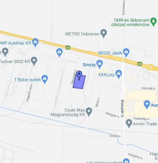 kika debrecen térkép Agroroll 96 Kft. – Google Saját térképek kika debrecen térkép