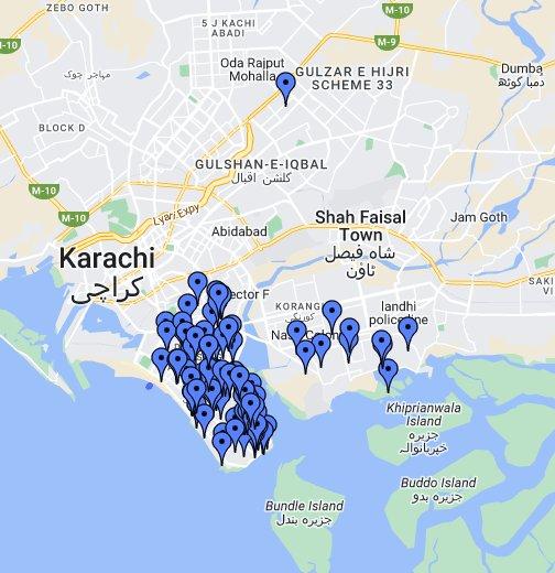 DHA KARACHI - Google My Maps