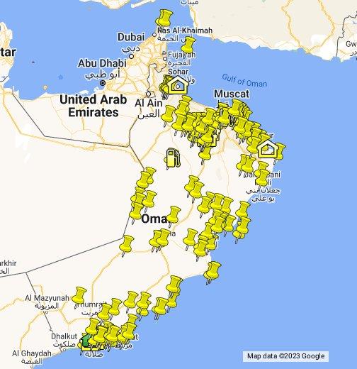 Oman Travel Map - Google My Maps