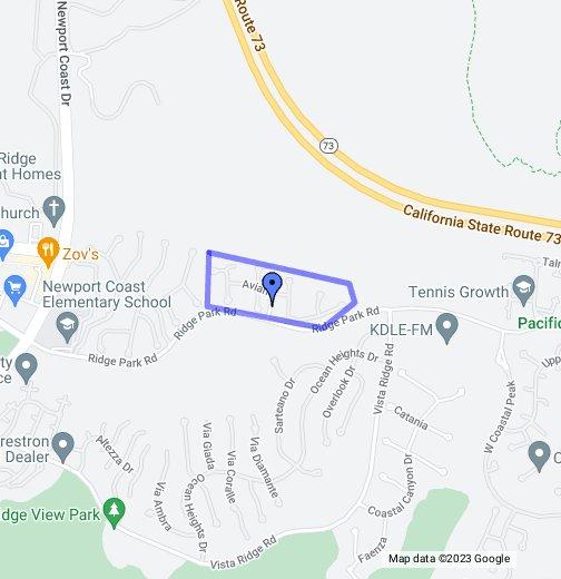Campobello In Newport Coast 92658 Google My Maps