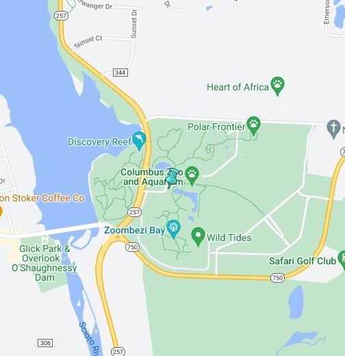 Columbus Zoo And Aquarium - Columbus maps google